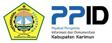 Ket foto: Logo Pemkab Karimun dan PPID Karimun