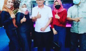 Foto LM2R Bengkalis saat Silahturahmi Di Kediaman Sofian Wakil Ketua Satu DPRD Bengkalis.