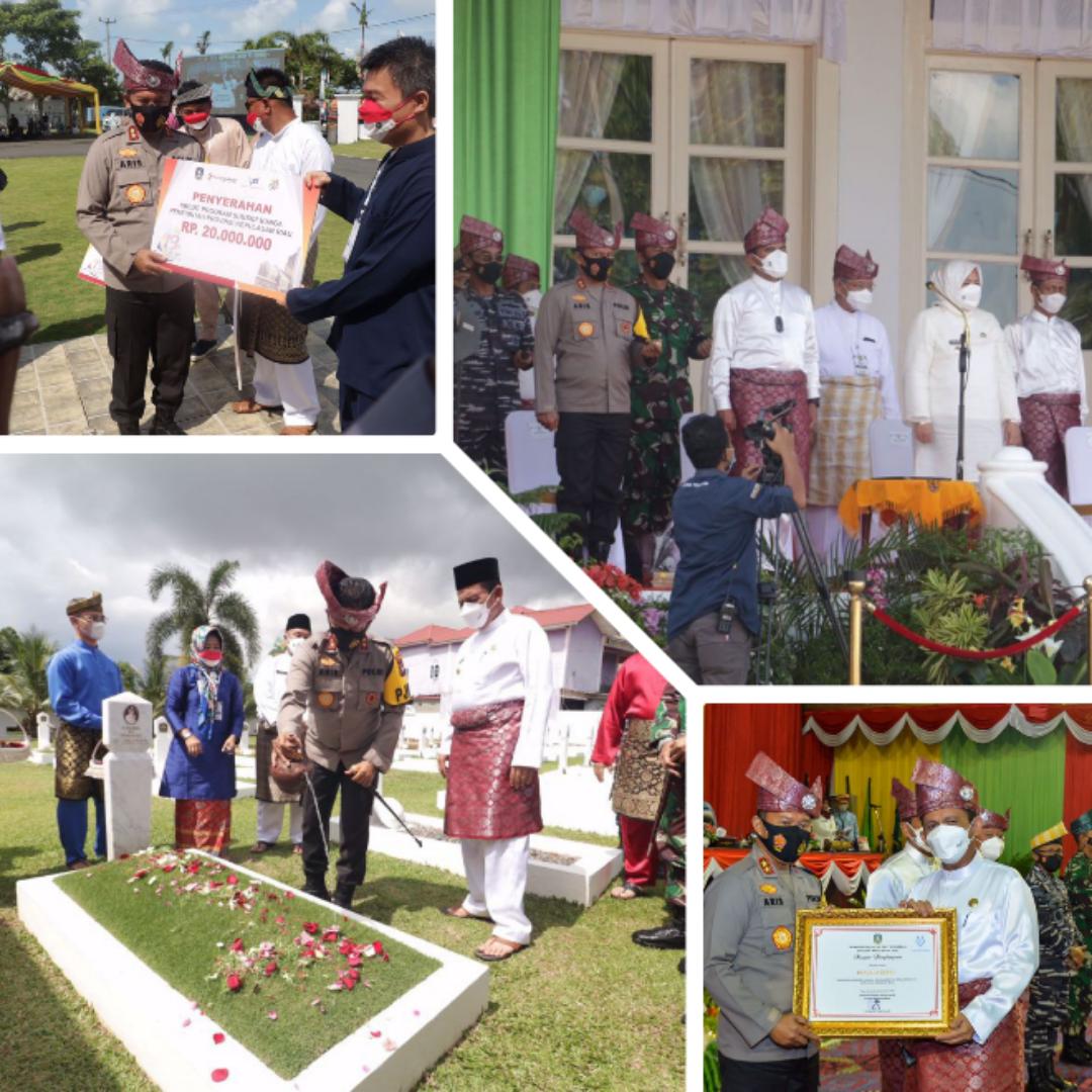 Rangkaian Kegiatan Kapolda Kepri Saat Menghadiri Hari Jadi Provinsi Kepulauan Riau Ke-19 Tahun