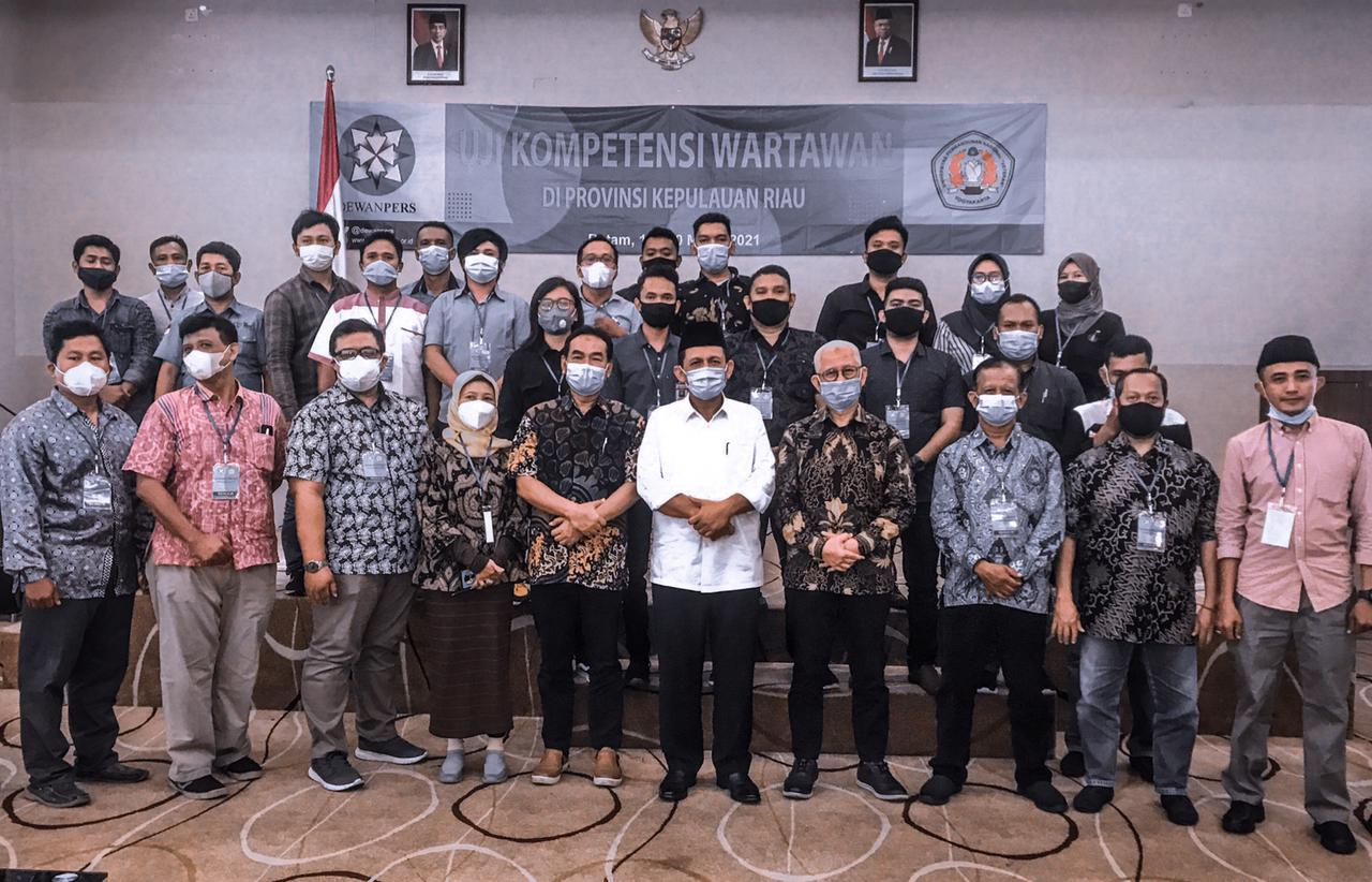 Foto Gubernur Provinsi Kepulauan Riau Ansar saat melakukan kegiatan bersama Jurusan Ilmu Komunikasi Fisip UPN 'Veteran' Yogyakarta.