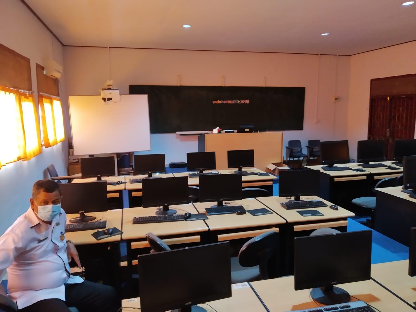 Ruangan Test Pegawai PPPK Kabupaten Lingga.