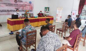 Foto Kegiatan Sosialisasi GNRM UMRAH Di Desa Malang Rapat Kabupaten Bintan.