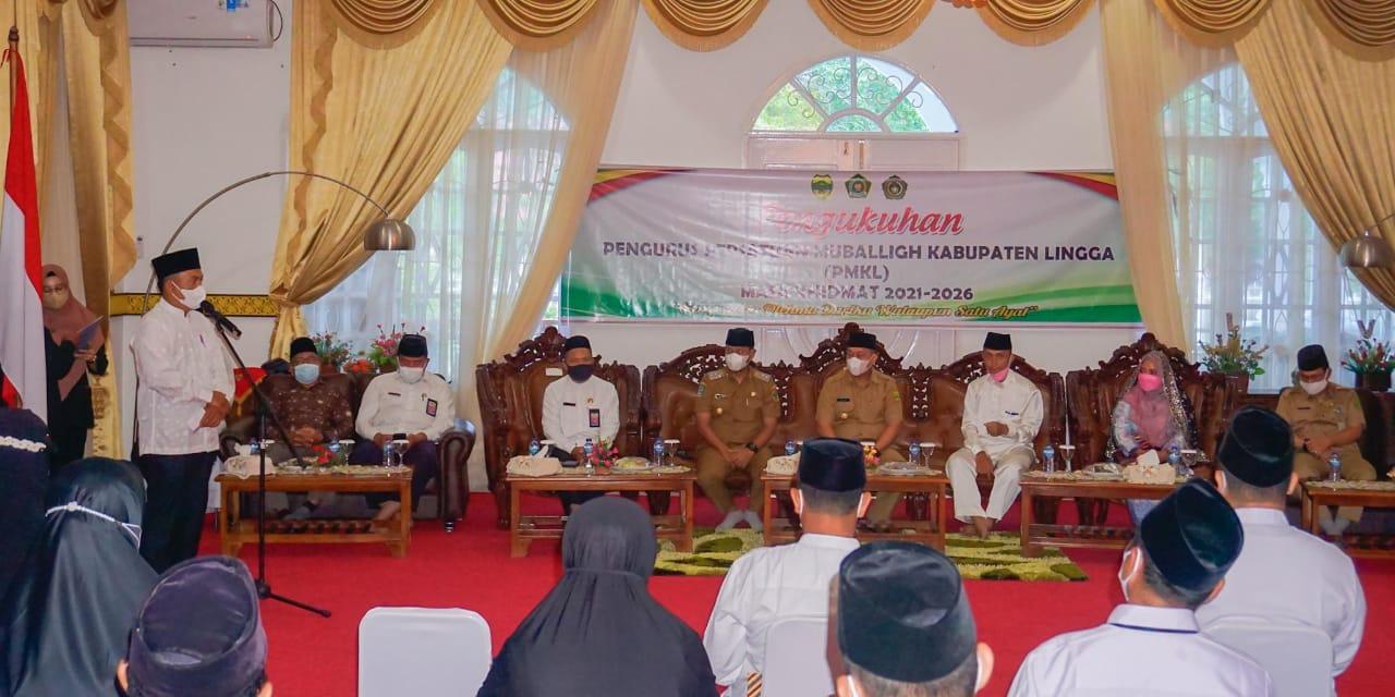 Kata Sambutan Dari Ketua Persatuan Mubaligh Provinsi Kepulauan Riau, Muryono