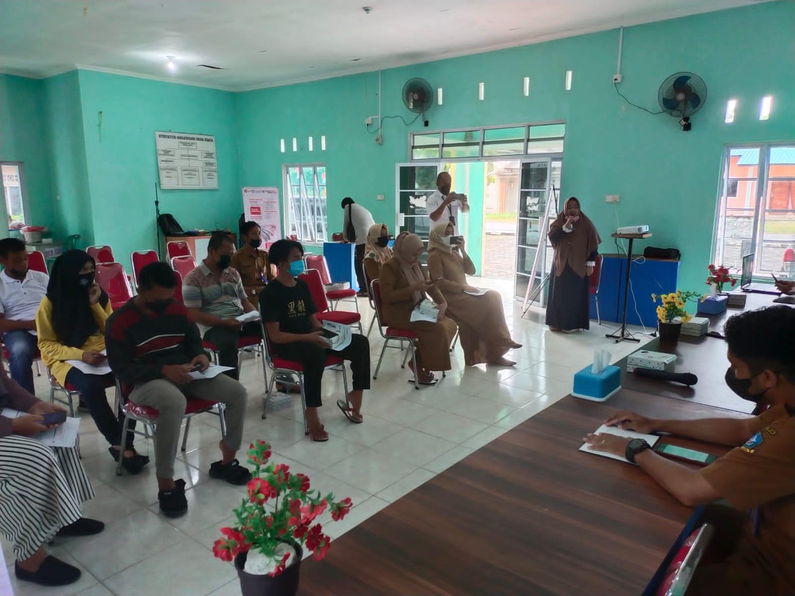 Peserta Kegiatan GNRM UMRAH Di Desa Pengudang