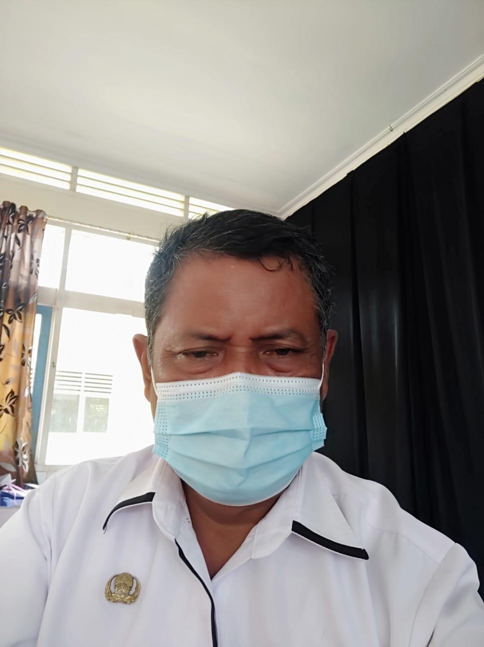 Drs. Junaidi Ajam, Wakil Ketua Panitia Penerimaan P3K Kabupaten Lingga Yang Juga Kadis Pendidikan Kabupaten Lingga.