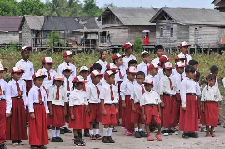 Salah Satu Kondisi Lokasi Tempat Guru-Guru Mengabdi Di Daerah Terpencil