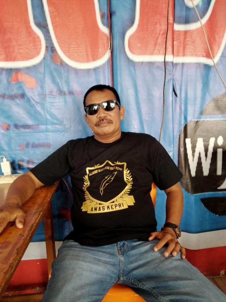 Parlindungan Simanungkalit, Ketua Umum Aliansi Wartawan Siber Kepri (AWAS Kepri)