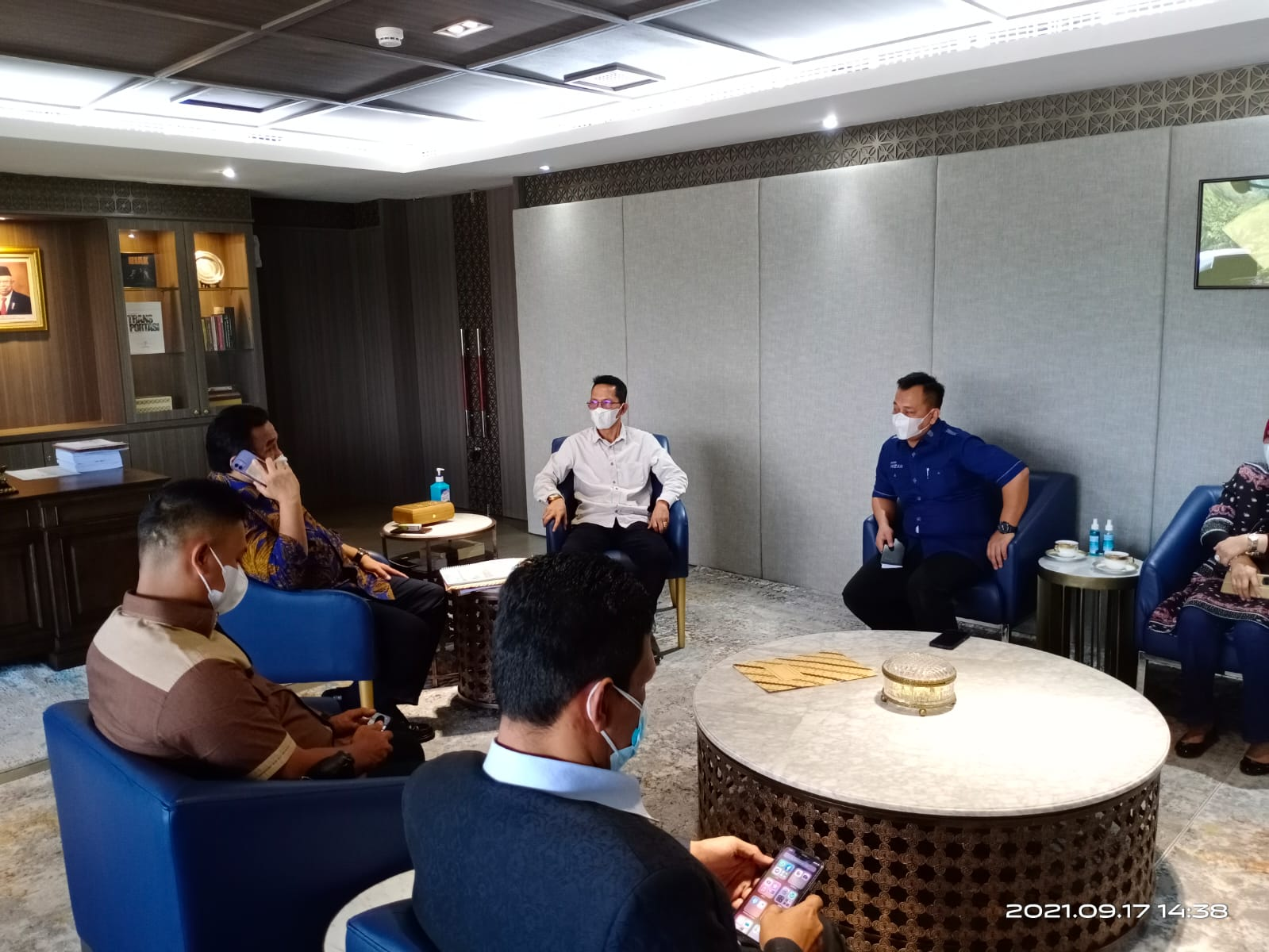 Bupati Lingga dan Wakil Bupati Lingga Paparkan Potensi Dan Kebutuhan Kabupaten Lingga Dihadapan Wakil Ketua DPR-RI, Bpk. Rachmat Gobel.