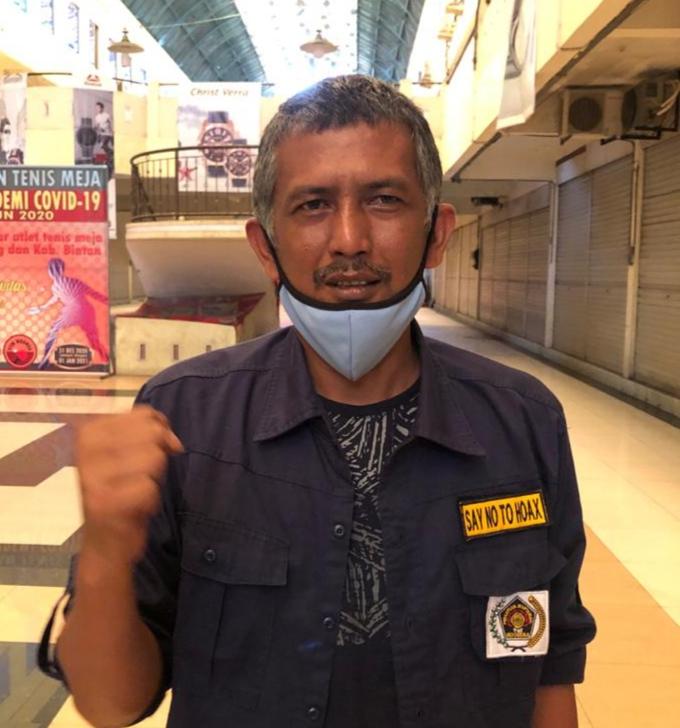 Foto Zakmi Piliang Ketua Persatuan Wartawan Indonesia (PWI) Tanjungpinang - Bintan