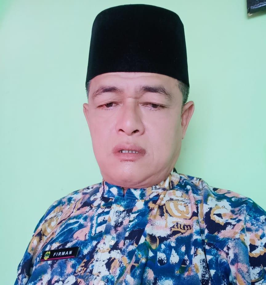 Foto Firman. SST, Sekretaris Kecamatan Bakung Serumpun Kabupaten Lingga