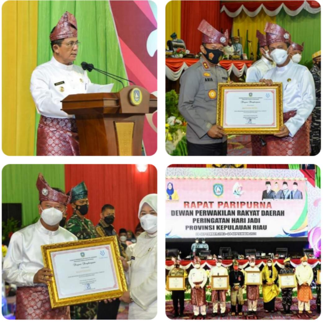 Gubernur Kepri H. Ansar Ahmad dalam Mengajak Seluruh Unsur Masyarakat Untuk Bersinergi Membangun Kepri