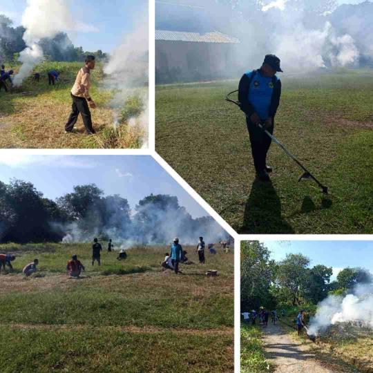 Rangkaian Kegiatan Goro Di Desa Rejai Pada Jumat Pagi, Jumat (04/10)