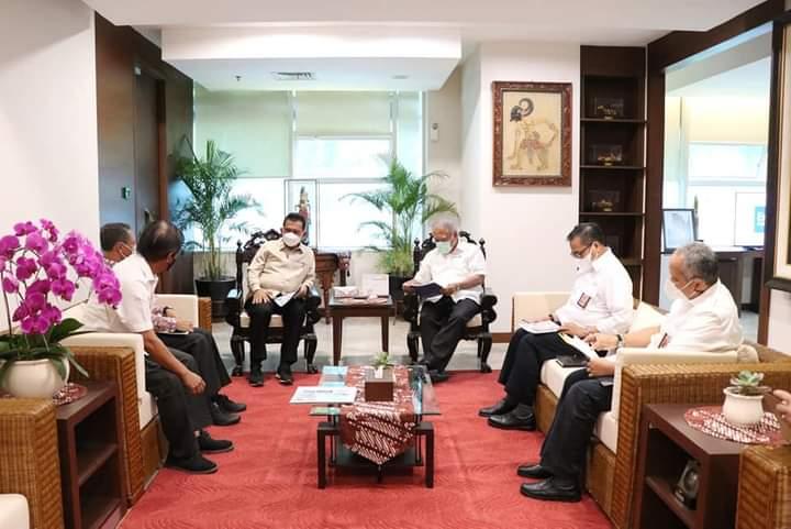 Pembahasan Pembangunan Jembatan Batam-Bintan Bersama Menteri PUPR-RI