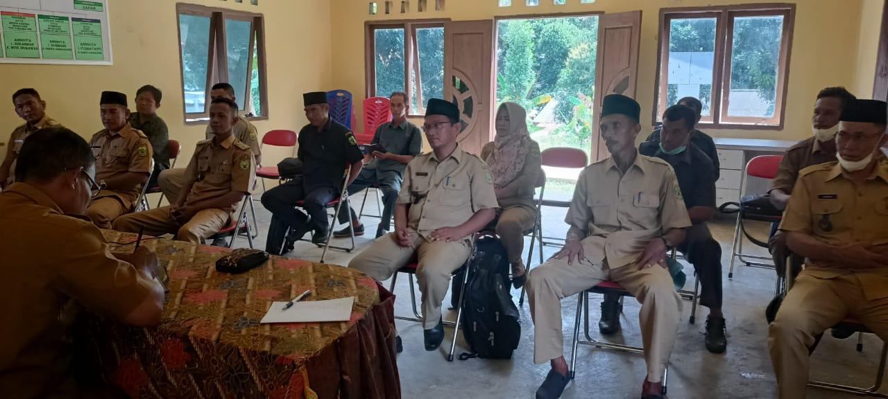 Peserta Rakor, Kepala Desa dan BPD Se - Kecamatan Bakung Serumpun Kabupaten Lingga.