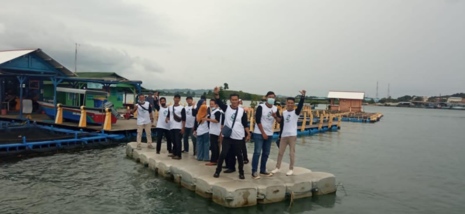 Peninjauan Lapangan Terkait Budidaya Perikanan Di BPBL Batam