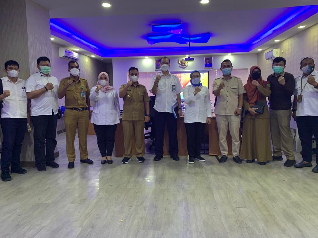 Bupati Lingga M. Nizar Ucapkan Terimakasih Kepada BWS Sumatera IV Atas Atensinya Membangun di Kabupaten Lingga