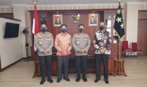 Kapolda Kepri, Irjen Pol Dr. Aris Budiman, M.Si Bersama Direktorat Pengawasan Bidang Pertahanan Dan Keamanan BPKP