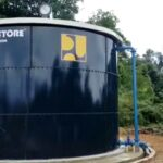 Sumber Air Bersih Yang Dibangun Oleh Dinas PU-PR Kabupaten Lingga Di Desa Marok Kecil Kecamatan Singkep Selatan Kabupaten Lingga
