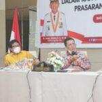 Gubernur Provinsi Kepulauan Riau, H Ansar Ahmad Saat Memaparkan Sejumlah Mesin Baru Ekonomi di Kepri Di Hadapan Komisi V DPR-RI
