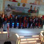 Walikota Tanjungpinang, Hj. Rahma. S.Ip (Jilbab Biru) Saat Melantik Kepengurusan RBB Kota Tanjungpinang Periode 2021-2026